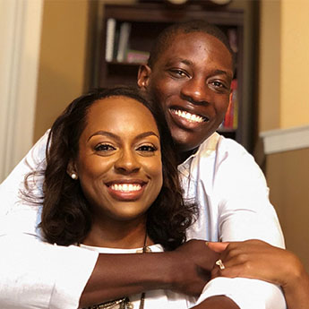 Dr Femi and his wife